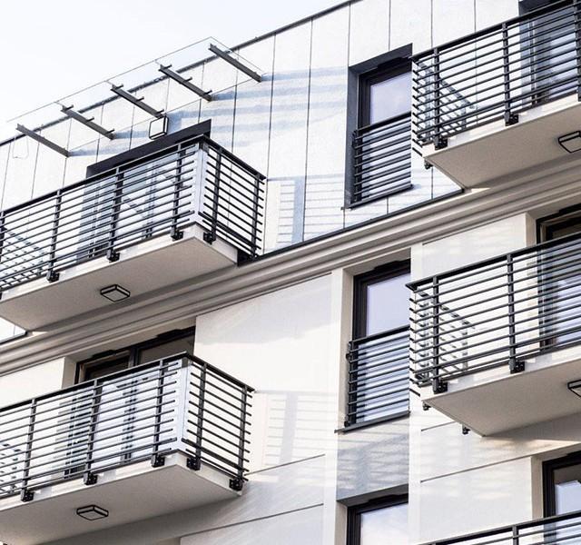 konopnickiej wizualizacja budynku balkony