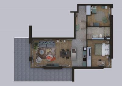 RZUT - 3 pokoje