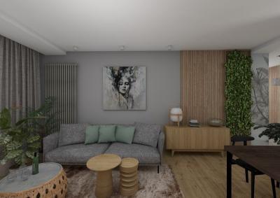 3 pokojowe - salon