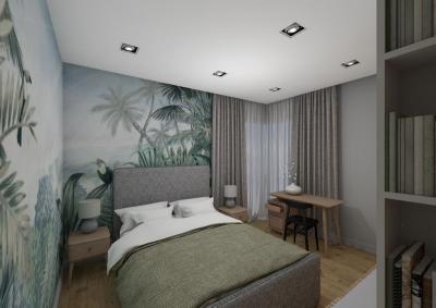 3 pokojowe - sypialnia