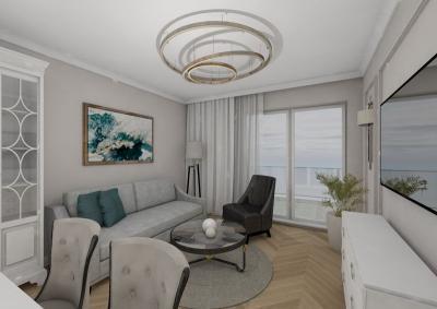 mieszkanie dwupokojowe - salon
